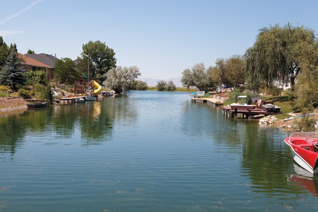 The Stansbury Park Service Agency Is Reviewing Its Current Policy On If Lake Can Be Limited To Resident Use Only