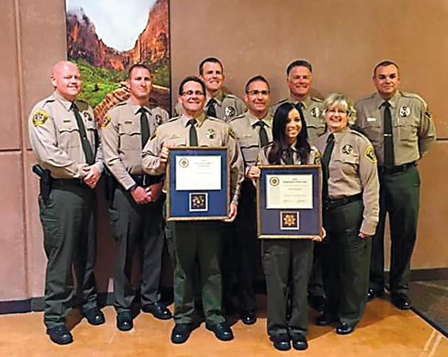 Tooele County Sheriff's Office employees receive state awards