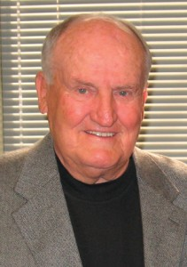 A 2010 photo of former Brigham Young University football coach LaVell Edwards, who died at the age of 86 last week at his home in Provo.