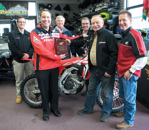 Steadman's celebrates 50 years of selling Hondas in Tooele