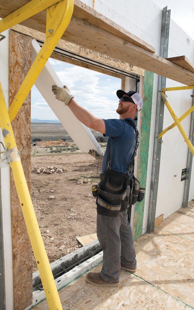Local building permits up 38 percent during 2016