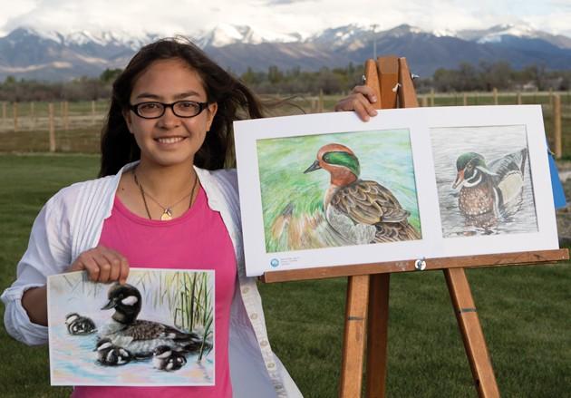 Allen wins 'best of show' in Utah duck stamp contest