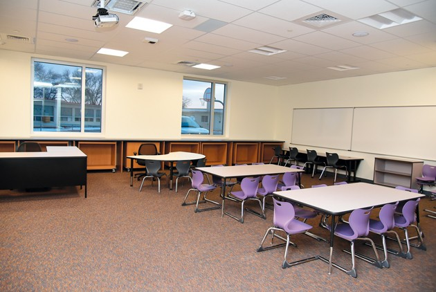 New school costs also include desks, chairs, tables — and 'toilet paper'