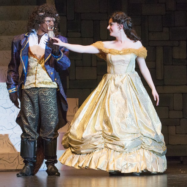 beauty and the beast play running time
