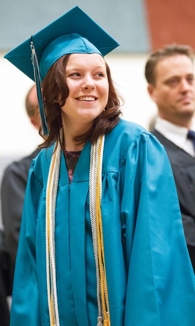 Blue Peak High graduates 15