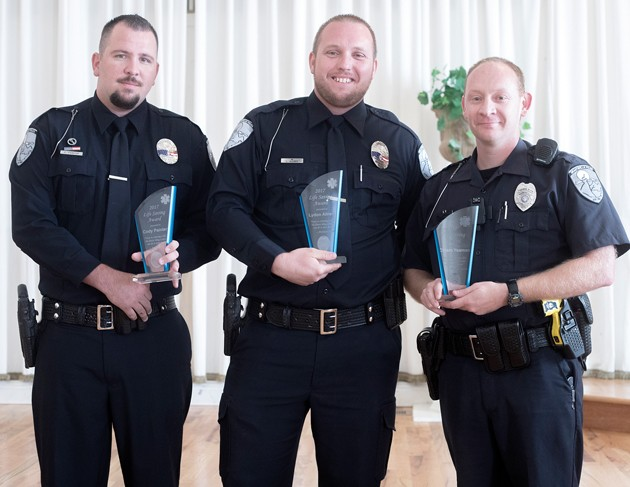Grantsville police honor best and brightest at banquet