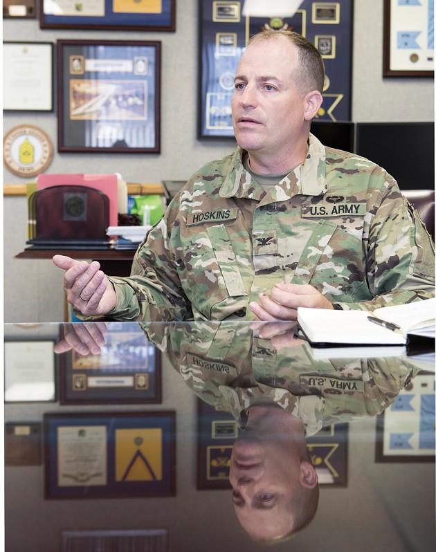 Col. Hoskins takes reins at Dugway