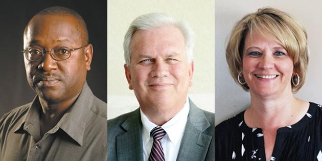 Three on city council seek mayor's office