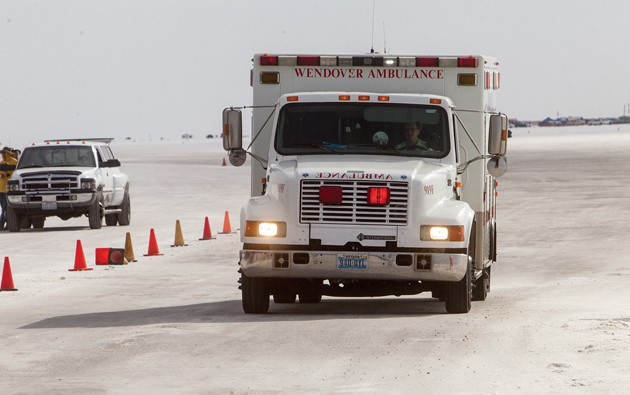 1 dead, 5 injured in head-on crash at Bonneville Salt Flats
