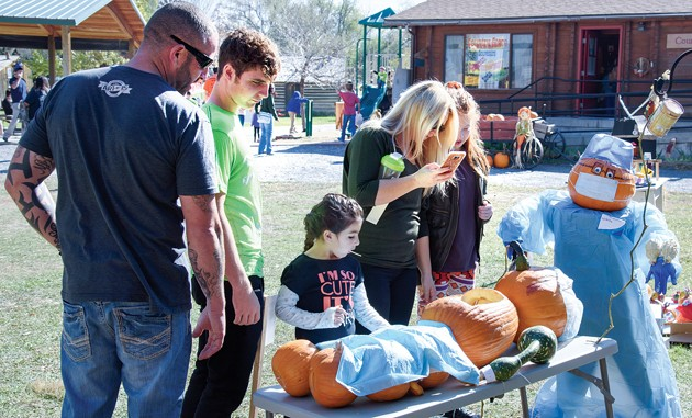 Pumpkin Walk on tap for weekend at Benson Gristmill