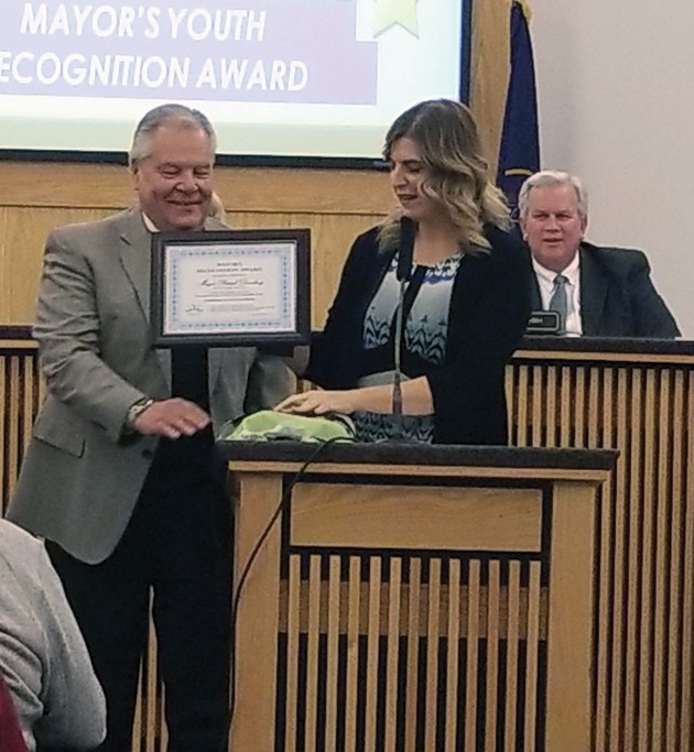 Dunlavy honored for 50 years of service to city