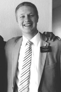 Missionary Elder Nathan Fisk