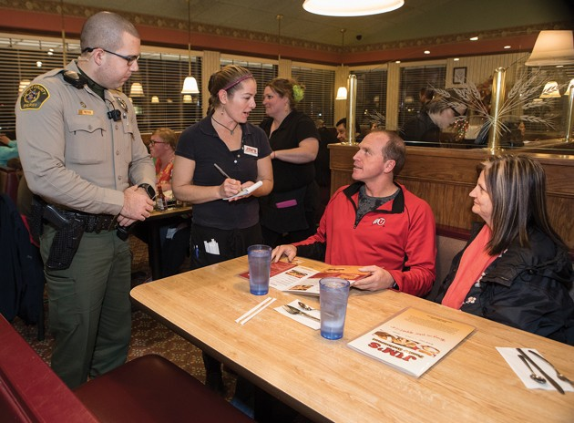 Tip-a-Cop raises funds for local families