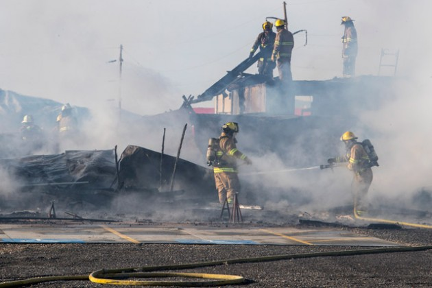 Big Shot Ranch building destroyed in fire