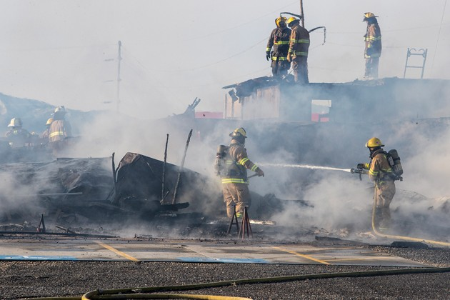 Big Shot Ranch clubhouse razed in early morning fire