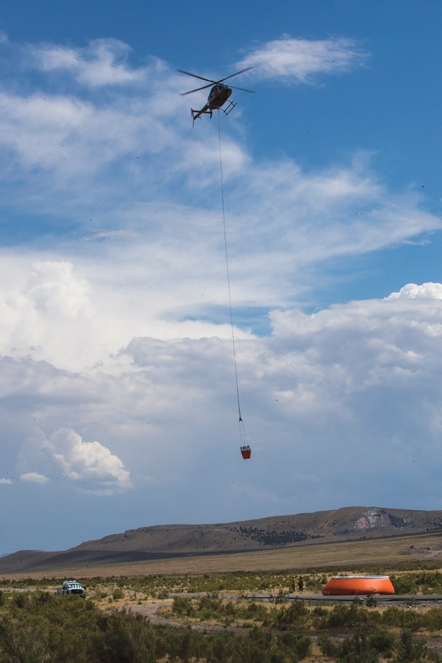 Ellerbeck Fire 80-percent contained