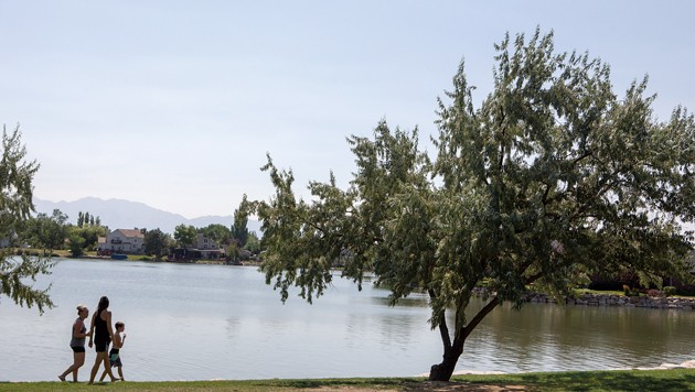 Stansbury Park citizens angry about review of lake's status