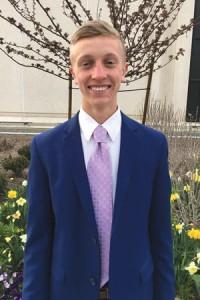 Missionary Elder Garrett Bresee