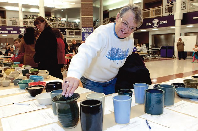 Eat warm soup and buy great art at Tooele High School on Friday
