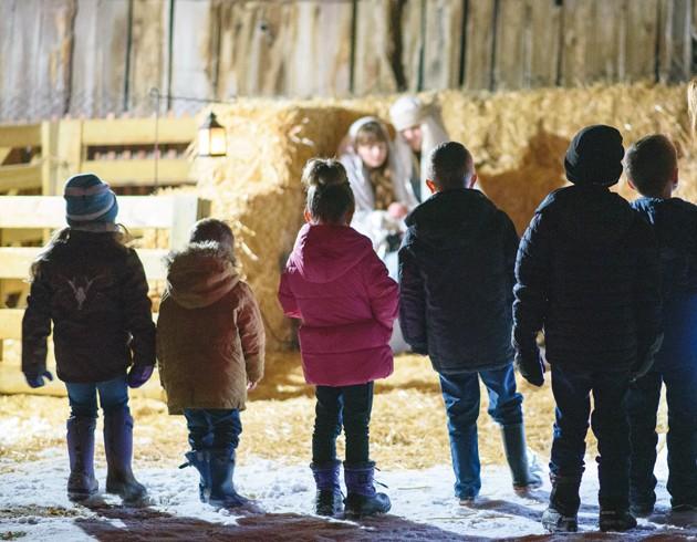 Live Nativity at Clark Historic Farm