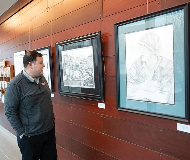 Art by Vietnam War veterans on display at Grantsville Library