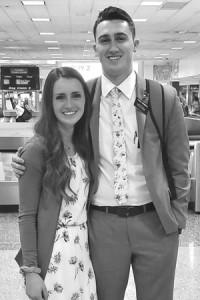 Missionary Braden and Bailie Sandberg