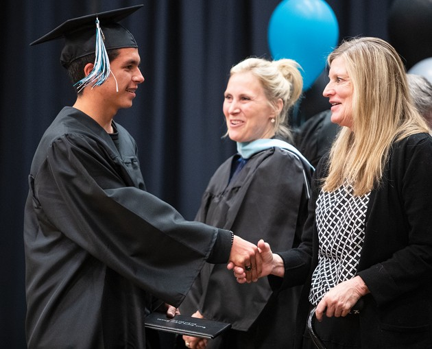 Blue Peak High graduates 28