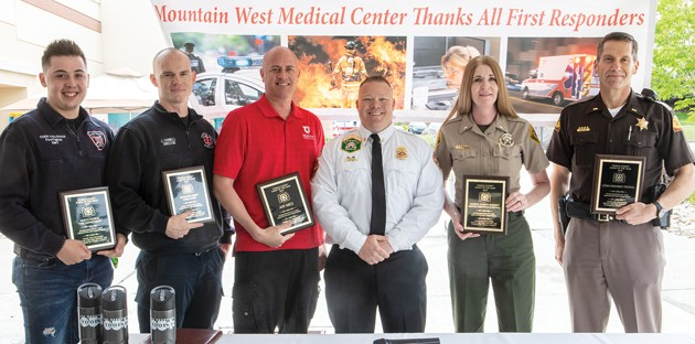 Mountain West Medical Center honors first responders with awards