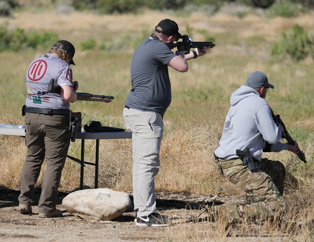 Law enforcement, military take aim at Top Shot competition
