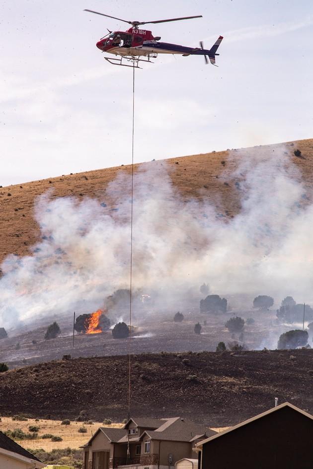 Fire near South Rim leaves 351 acres burned