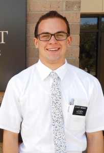 Missionary Zachary Wendel