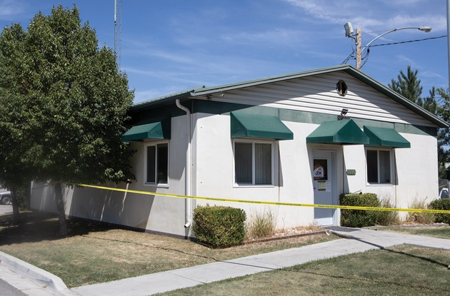 Device used to monitor water and sewer damaged in Grantsville office fire