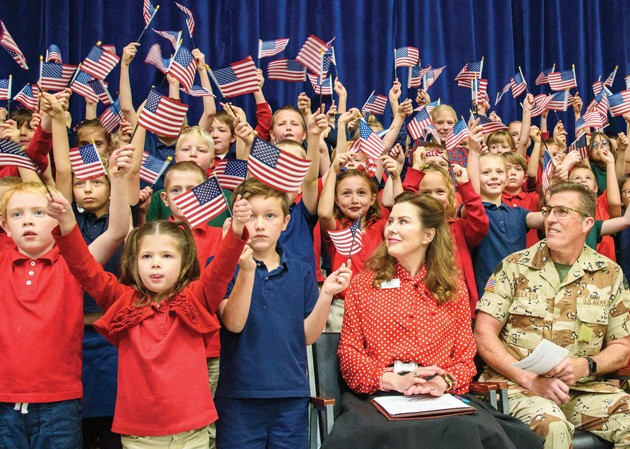 Veterans Day Celebration at Excelsior Academy 2019