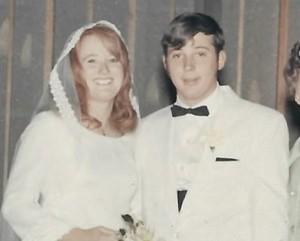 Wedding Gary and Carol Buhler