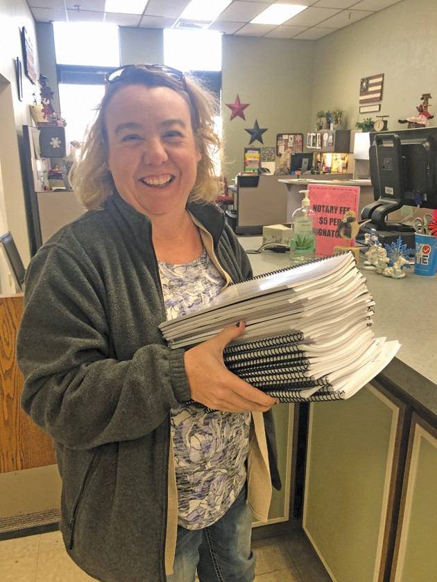 County collects over 3,500 signatures for referendum