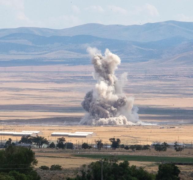 Tooele Army Depot South starts seasonal detonations