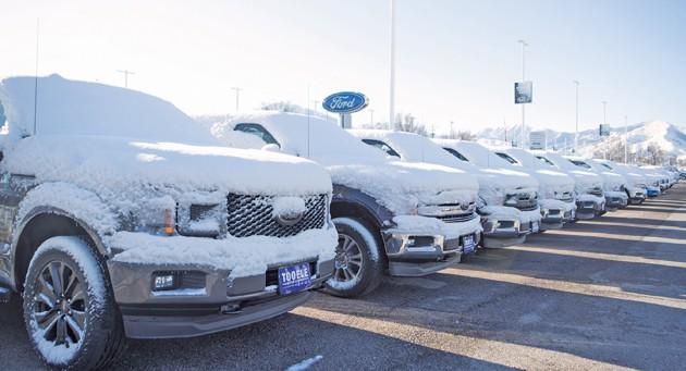Car sales decline during pandemic