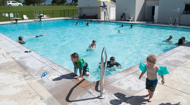 Stansbury Park swimming pool opens with some restrictions