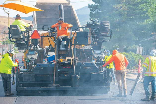 Tooele City works on road projects