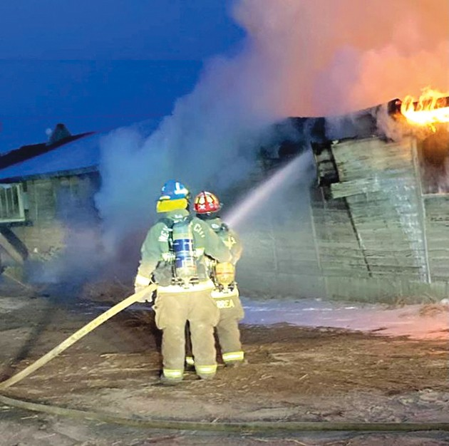 Barracks burn on historic Wendover airfield Monday