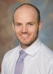 Devin Horton, a hospitalist at Mountain West Medical Center.