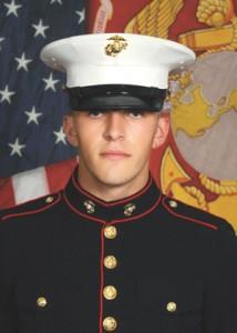 Kaden Shin graduated from U.S. Marine Corps boot camp.