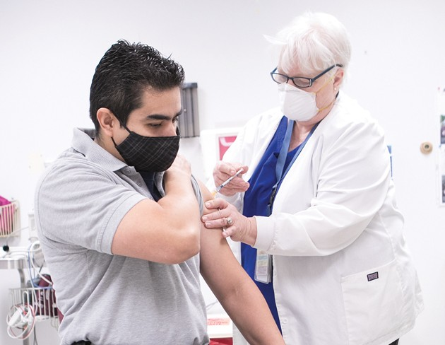 Tooele Army Depot first responders receives COVID-19 vaccination