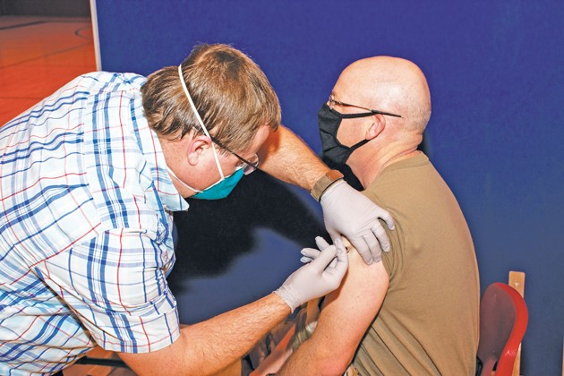 Vaccinations at Dugway Proving Ground