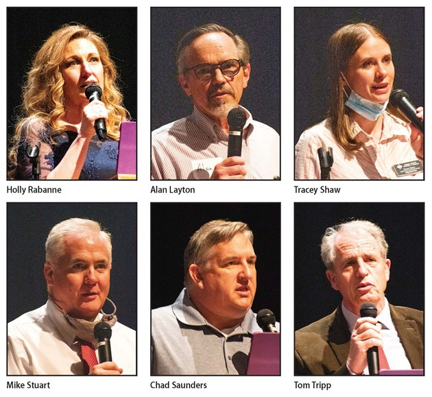 County Republicans keep local leadership