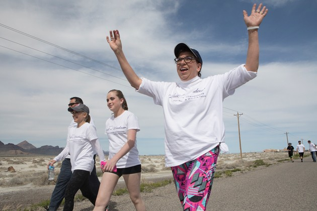 Life's Worth Living Walk to Wendover returns after pandemic cancellation