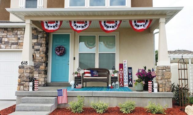 Tooele City hosts patriotic porch decorating contest