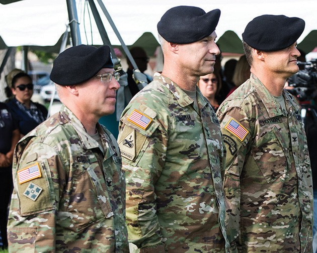 Dugway change of command
